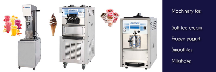 Machinery for Ice Cream Shops